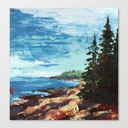 Acadia Canvas Print