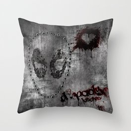 D.Pooly Throw Pillow