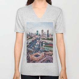 Boston City Unisex V-Neck