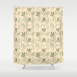 Angelica, Thyme, & Dandelion Shower Curtain
