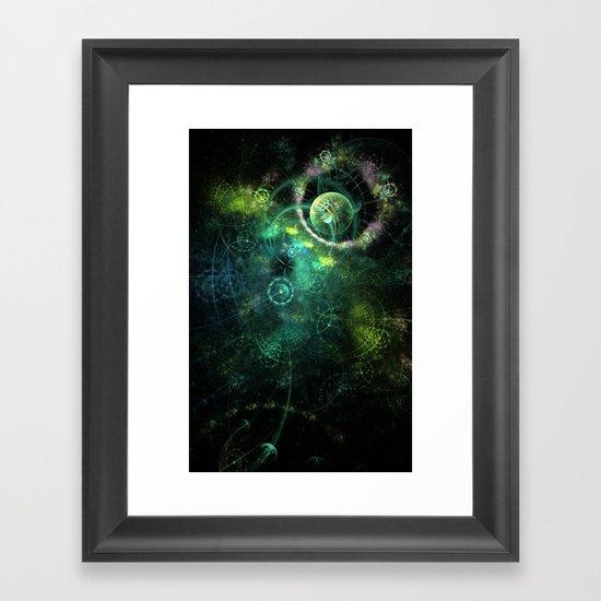 Feeling Spacey Framed Art Print