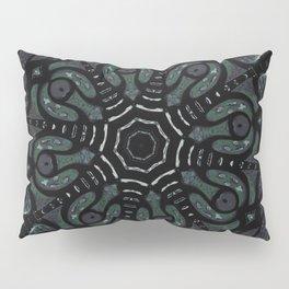 Dark Mandala #4 Pillow Sham