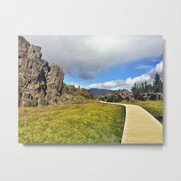 Þingvellir/Thingvellir National Park, Iceland (4) Metal Print
