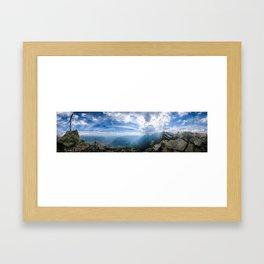 Meran // Mutspitze Framed Art Print
