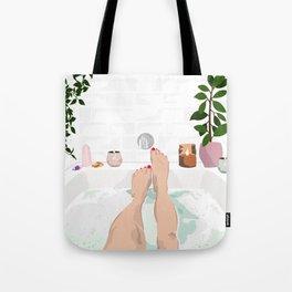 Bathtub Love Tote Bag