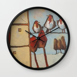 chatter Wall Clock