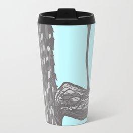 Nut Tree Illustration Travel Mug