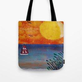 Tropical Beach Tote Bag