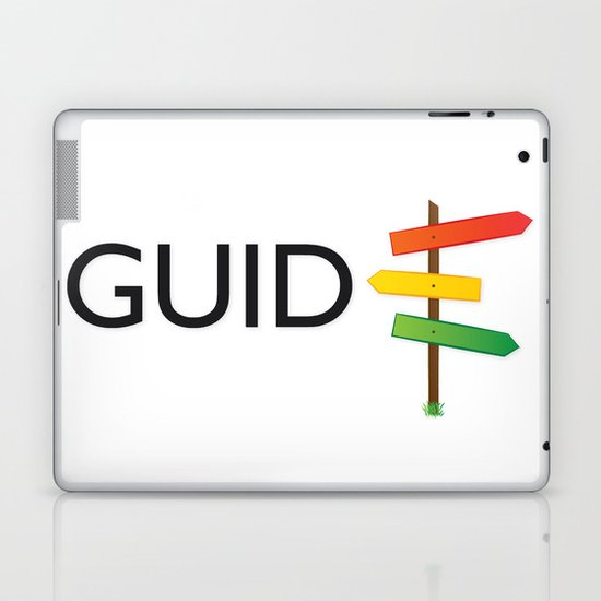 GUIDE Laptop & iPad Skin