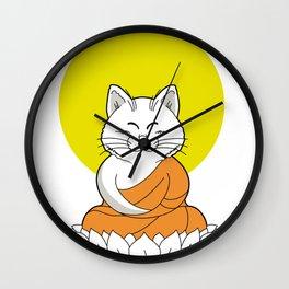 Master karin Buddha Wall Clock