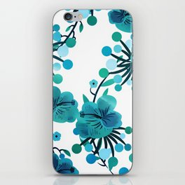 Turquoise Delight iPhone Skin