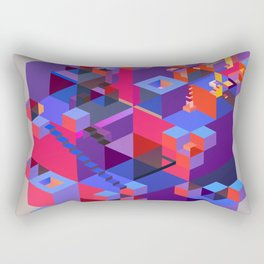 Everything is on the inside Rectangular Pillow