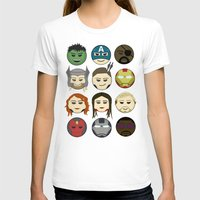 avenger T-shirts featuring Avenger Emojis :) by jozi.art