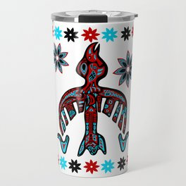 The Raven -Tlingit inspired Travel Mug