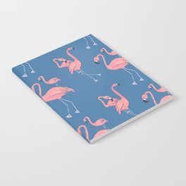 Flamingo Pattern Notebook