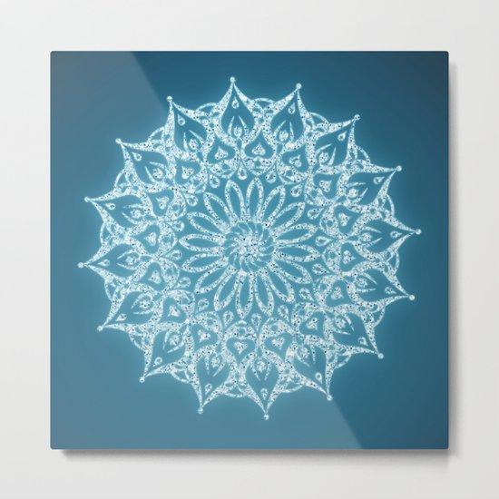 Zen Mandala (Serenity) Metal Print
