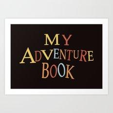 thanks for the adventure Art Print