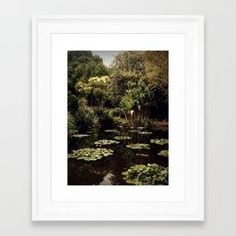 Low Key Framed Art Print
