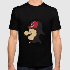Mario Firefighter Mens Fitted Tee Black LARGE