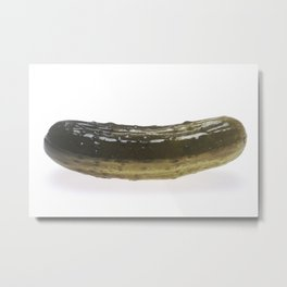 Dill Pickle Metal Print