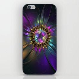 Fantasy Flower Fractal iPhone Skin