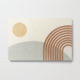 Sunny Hill - landscape Metal Print