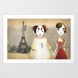 Romance Standart Art Print