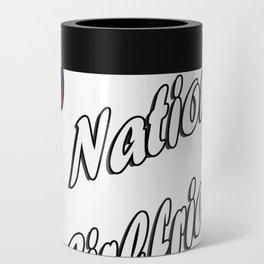 Aug 1st National Girlfriends Day Fun Gift Idea Design Can Cooler