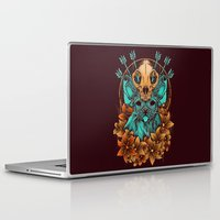 sphynx Laptop & iPad Skins featuring Sphynx Cat by Robin Clarijs