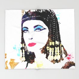 Elizabeth Taylor Throw Blanket