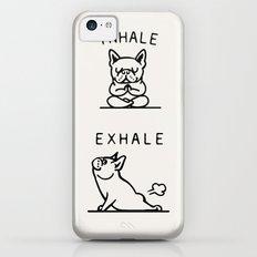 Inhale Exhale Frenchie iPhone 5c Slim Case