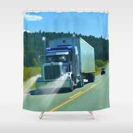Supplying the Nation Shower Curtain