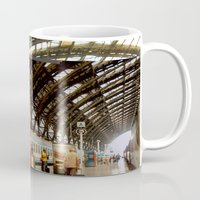 milan Mugs featuring milan glitch by Martin Summers