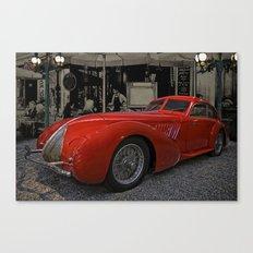 red Alfa Canvas Print