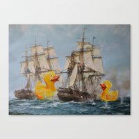 thegnarledbranch Canvas Prints featuring Terror on the High Seas III by TheGnarledBranch