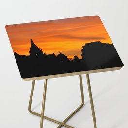 London Sunset in sillouette bywhacky Side Table