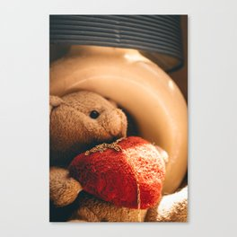 Bear Of Love Canvas Print