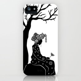 The Butterfly Lovers - The Heartbroken Bride iPhone Case