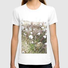 Cottongrass photography T-shirt