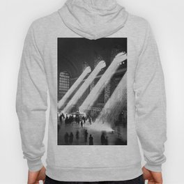 1935 Vintage New York City Grand Central Terminal Photographic Print Hoody