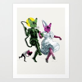 Dance, Chauncey, Dance - French Bulldog Art Print