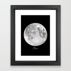 Moon #2 Framed Art Print