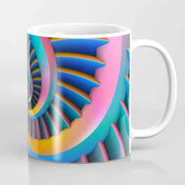Opposing Spirals Coffee Mug