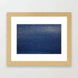 Blue Grill Framed Art Print