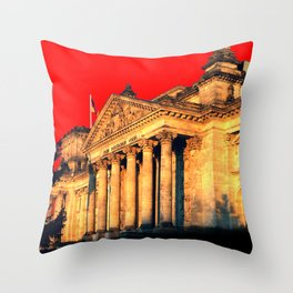 Architectural Shapes #6 Throw Pillow