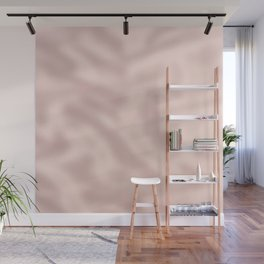 Modern girly blush pink trendy rose gold Wall Mural