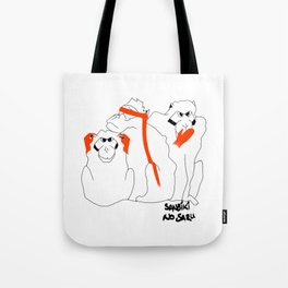 Wise Monkeys Tote Bag