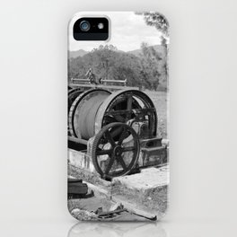Mountain King Gold Mine and Mill iPhone Case