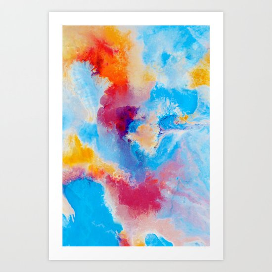Meld Art Print