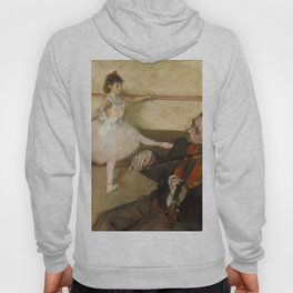 "Edgar Degas ""The Dance Lesson"" Hoody"